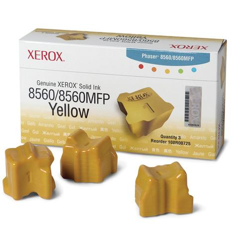 Xerox Yellow Solid Ink for Phaser 8560 & 8560MFP 108R00725