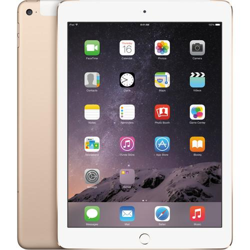 Apple 128GB iPad Air 2 (Wi-Fi   4G LTE, Gold) MH332LL/A