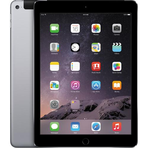 Apple 128GB iPad Air 2 (Wi-Fi   4G LTE, Space Gray) MH312LL/A