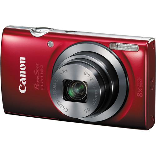 Canon PowerShot ELPH 160 Digital Camera (Silver) 0137C001