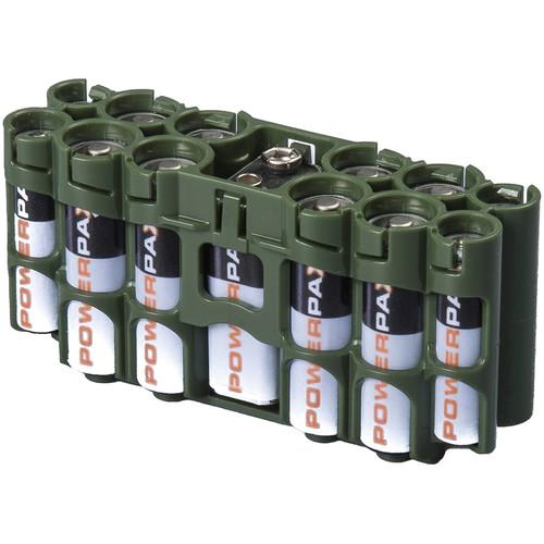 STORACELL A9 Pack Battery Caddy (Military Green) A9MG