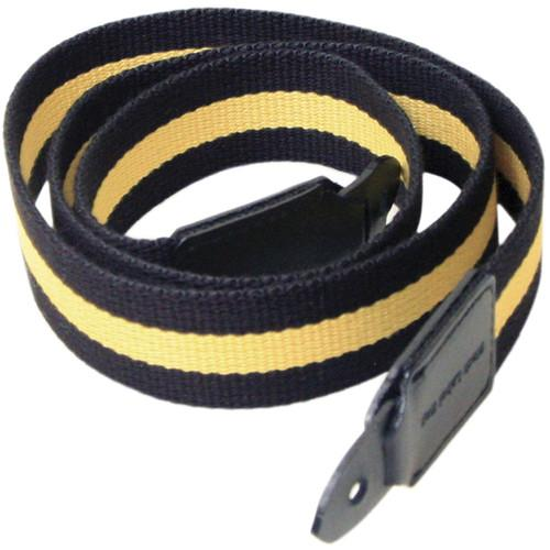 Black Label Bag Red Racing Stripe Canvas Camera Strap BLB218RED
