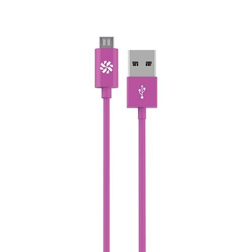 Kanex micro USB Charge and Sync Cable (Purple, 4') KMUSB4FPR