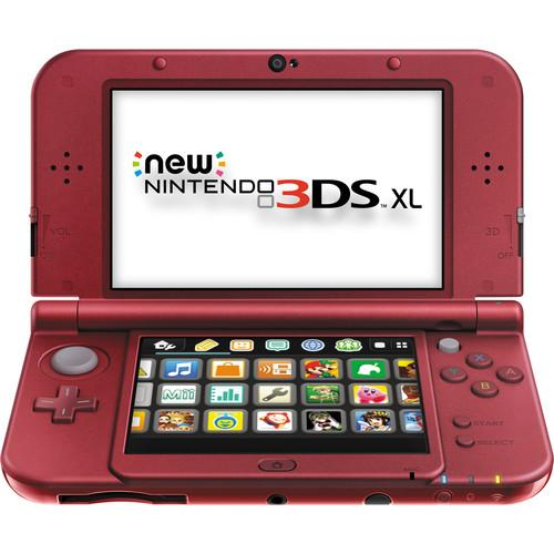 Nintendo  3DS XL Handheld Gaming System REDSRAAA
