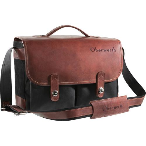 Oberwerth Munchen Large Camera Bag (Black/Black) M-CS-LS 201