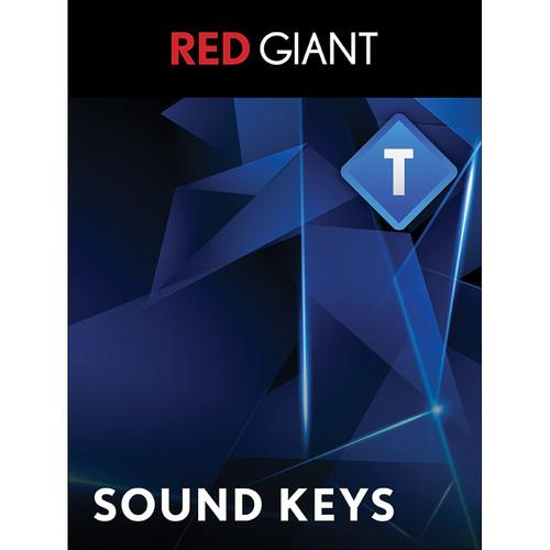 Red Giant Trapcode Sound Keys - Academic (Download) TCD-SOUND-A