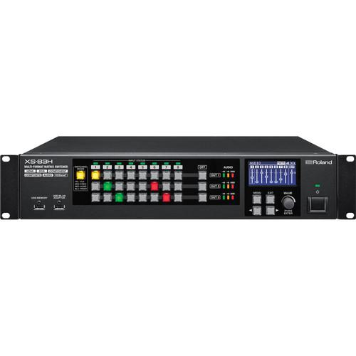 Roland XS-84H 8x4 Multi-Format AV Matrix Switcher XS-84H