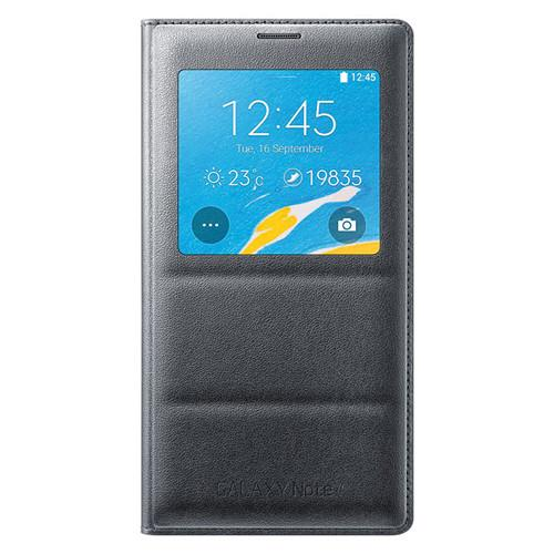 Samsung S-View Flip Cover for Galaxy S4 (Black) EF-CI950BBESTA