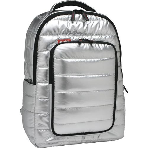 Skutr backpack   tablet Bag (Silver, Puffy) BP3 -SL