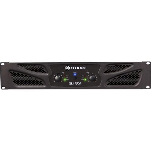 Crown Audio XLi 1500 Stereo Power Amplifier XLI1500