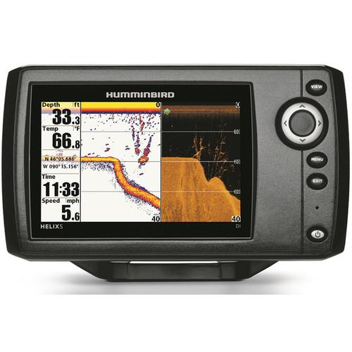 user manual humminbird helix 5 si gps kvd fishfinder 409640-1kvd, Fish Finder