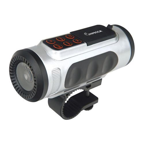 Impecca Bluetooth Bicycle Speaker with Headlight ASM330BTG