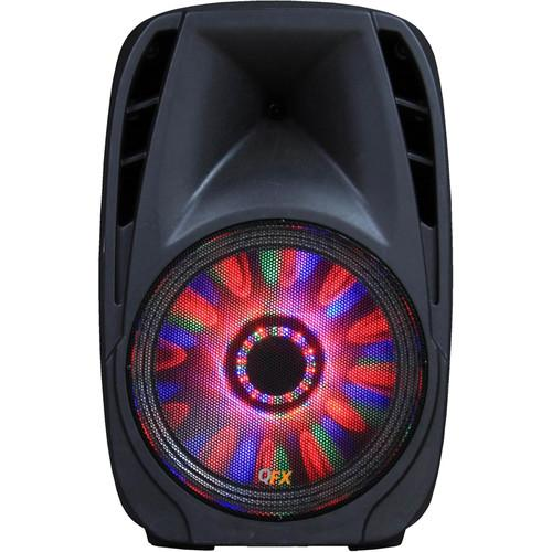QFX Portable Bluetooth Party Speaker with LED PBX 710700BTL