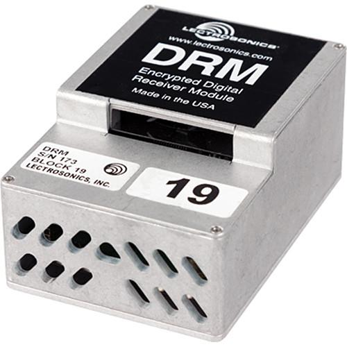 Lectrosonics DRM Encrypted Digital Receiver Module DRM-19