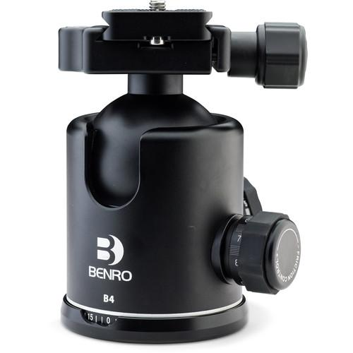 Benro B00 Triple Action Ball Head with PU50 Quick-Release B00