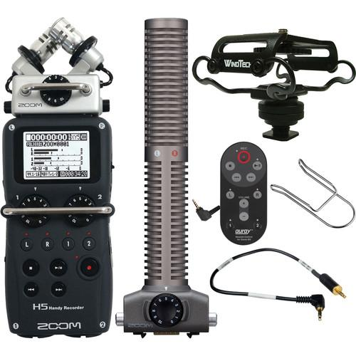 User manual Zoom Zoom H5 Handy Recorder On-Camera Package