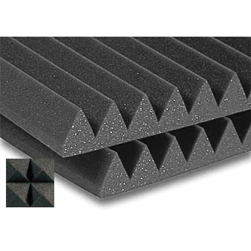 Auralex Studiofoam Wedge-22 (Charcoal Grey, 12-Pack) 2SF22CHA-HP
