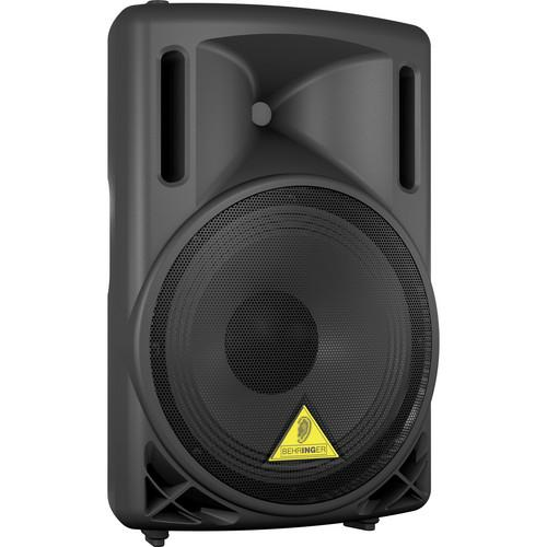 Behringer B212D 2-Way Active Loud Speaker (Black) B212D