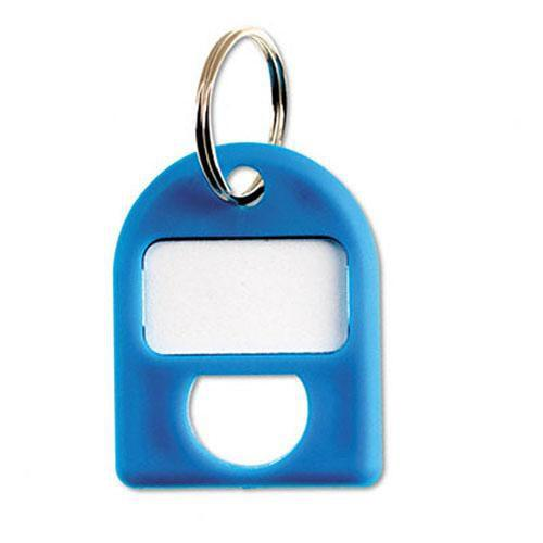 Carl Replacement Security Cabinet Key Tags, (Blue) 8/PK CUI80068
