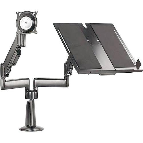 Chief KGL220 Height-Adjustable Monitor/Laptop Dual Arm KGL220B