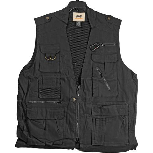 Humvee by CampCo Safari Photo Vest (Large, Black) HMV-VS-BK-L