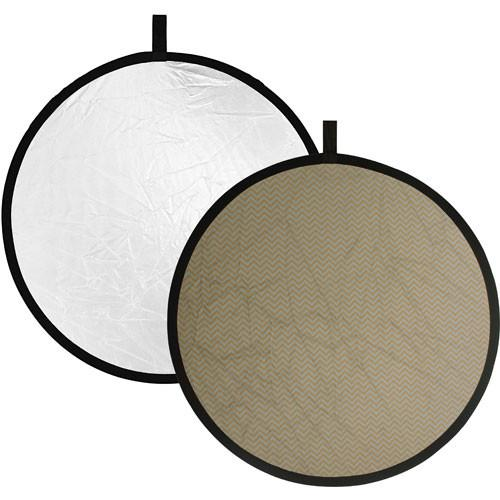 Impact Collapsible Circular Reflector Disc - Silver/White R1622