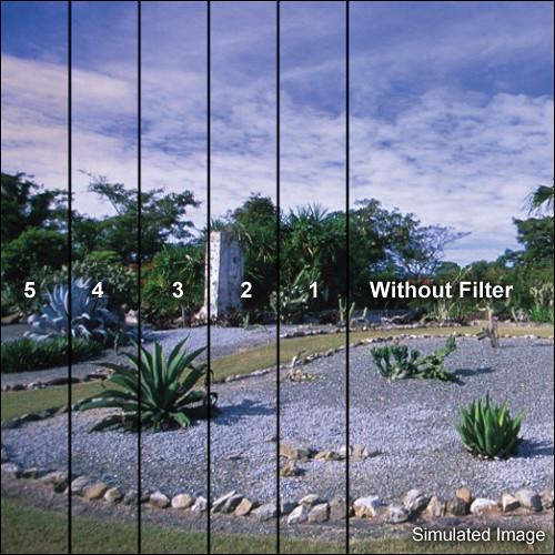 LEE Filters 100 x 150mm Soft-Edge Graduated Blue 3 Filter BG3S