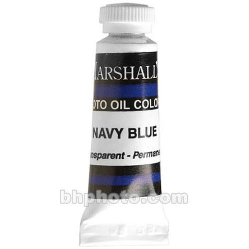 Marshall Retouching Oil Color Paint: Navy Blue - MSBL2NB