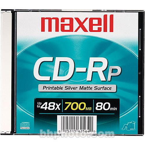 Maxell  CD-R 700MB Silver Inkjet Disc 648711