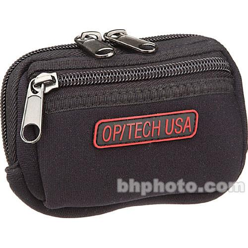 OP/TECH USA Zippeez Soft Pouch, Small (Red) 8402114