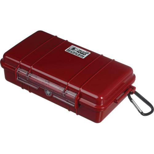 Pelican  1060 Solid Micro Case (Red) 1060-025-170