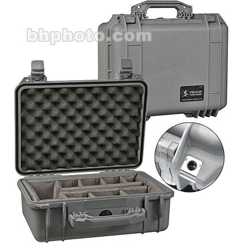 Pelican 1450 Case with Dividers (Yellow) 1450-004-240