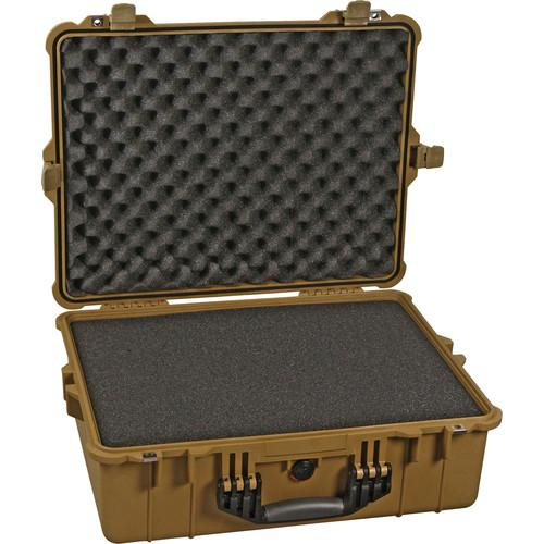 Pelican 1600 Case with Foam (Yellow) 1600-000-240
