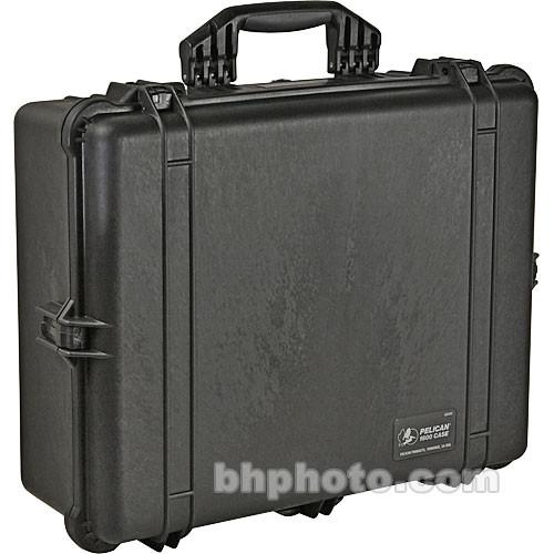 Pelican 1600 Case without Foam (Orange) 1600-001-150