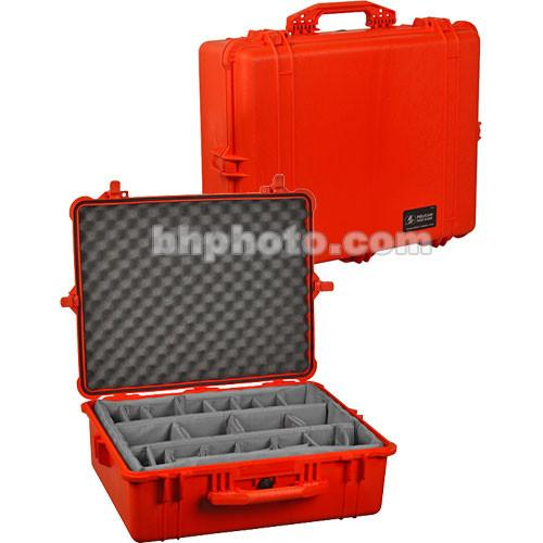 Pelican 1604 Waterproof 1600 Case with Dividers 1600-004-240