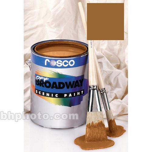 Rosco Off Broadway Paint - Antique Gold - 1 Pt 150053870016