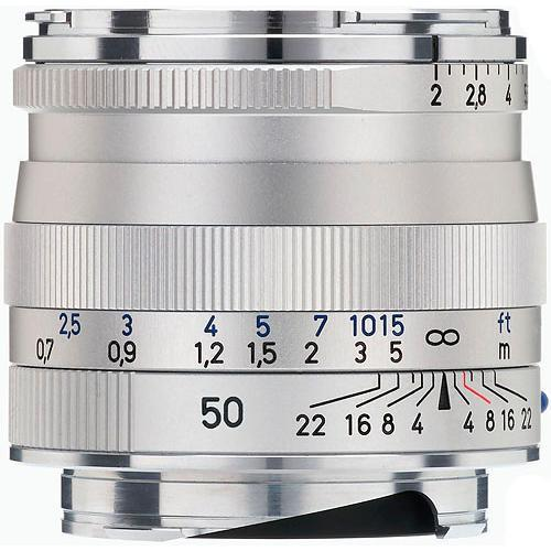 Zeiss  50mm f/2 ZM Lens - Silver 1365-660