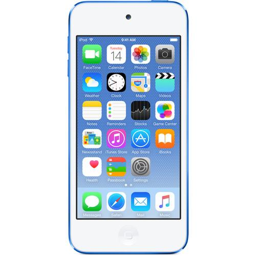 Apple 64GB iPod touch (Blue) (6th Generation) MKHE2LL/A
