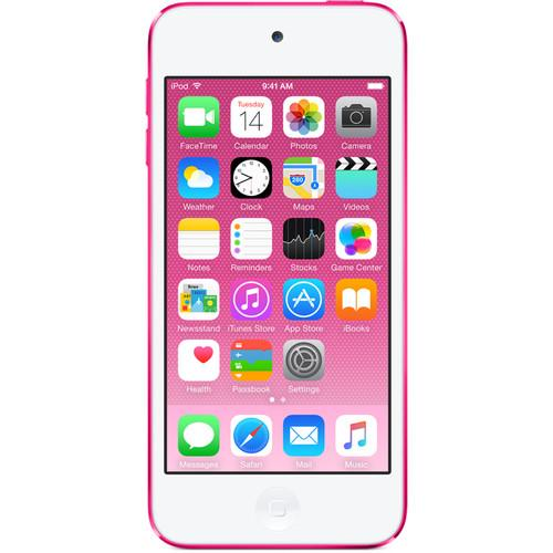 Apple 64GB iPod touch (Pink) (6th Generation) MKGW2LL/A