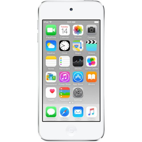 Apple 64GB iPod touch (Silver) (6th Generation) MKHJ2LL/A
