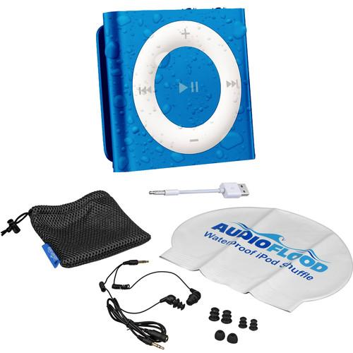 AUDIOFLOOD 2GB Waterproof iPod Bundle (Dark Blue) NB-B002
