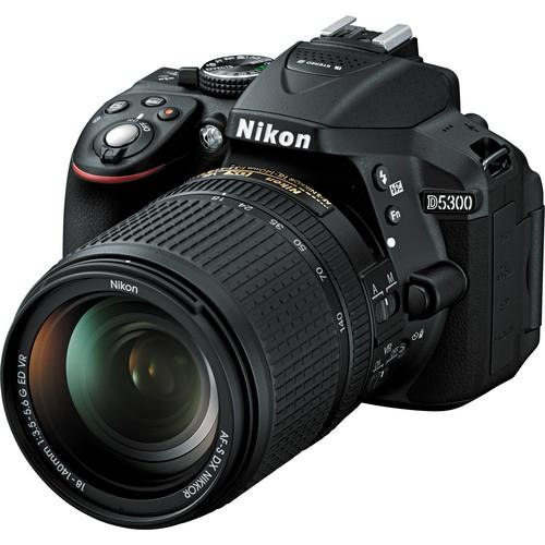 Nikon D5300 DSLR Camera with 18-55mm and 55-300mm Lenses 13488