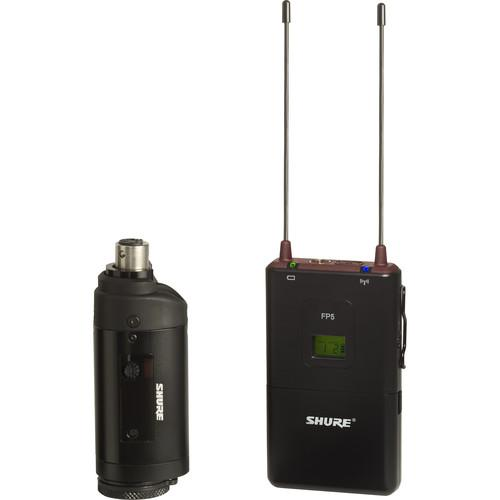 Shure FP3 Wireless Transmitter with Wireless Receiver FP35=-J3