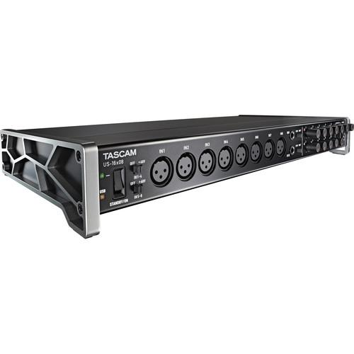 Tascam US-20x20 - USB Audio Interface with Mic US-20X20