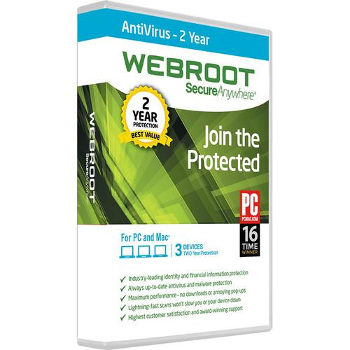 Webroot  SecureAnywhere AntiVirus 667208491162