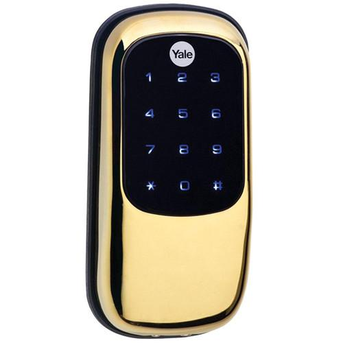 Yale Key-Free Touchscreen Z-Wave Deadbolt Entry YRD120-ZW-605