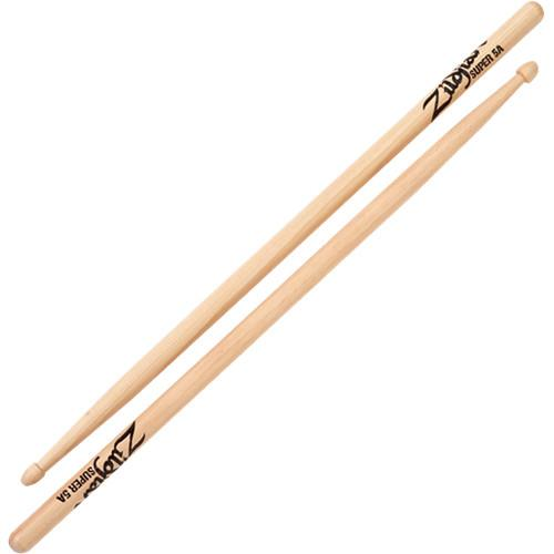 Zildjian Super 5A Wood Natural Drumsticks (1 Pair) S5AWN-1