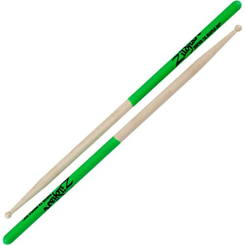 Zildjian Super 7A Maple Drumsticks with Wood Round Tips S7AMG-1