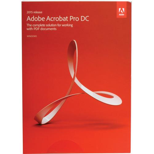 Adobe Acrobat Pro DC Upgrade (2015, Windows, Boxed) 65259139