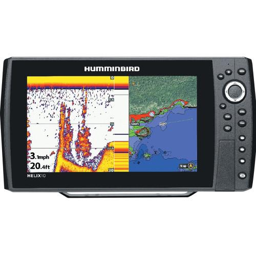 user manual humminbird helix 10 si gps fishfinder 409990-1 | pdf, Fish Finder